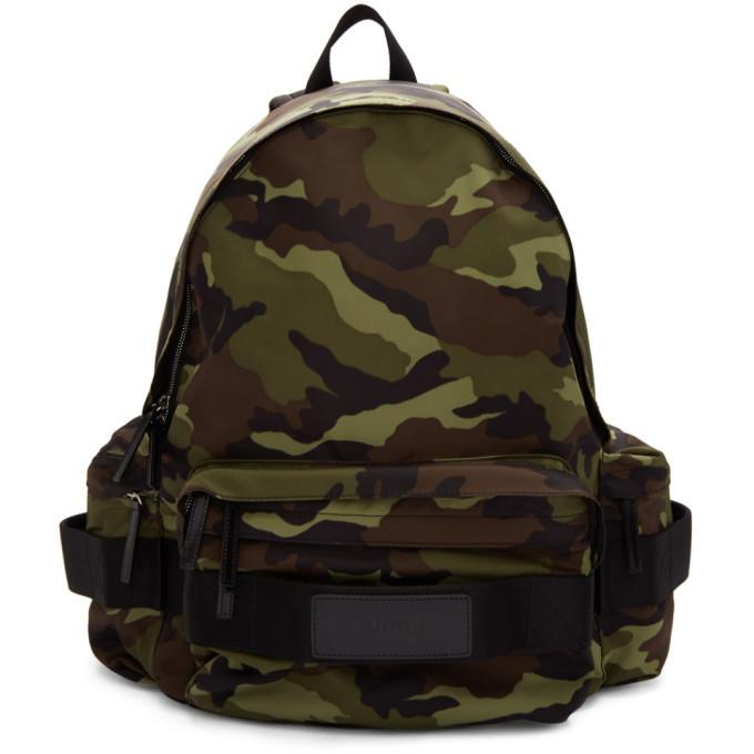 Photo: Juun.J Khaki Camo Nylon Backpack
