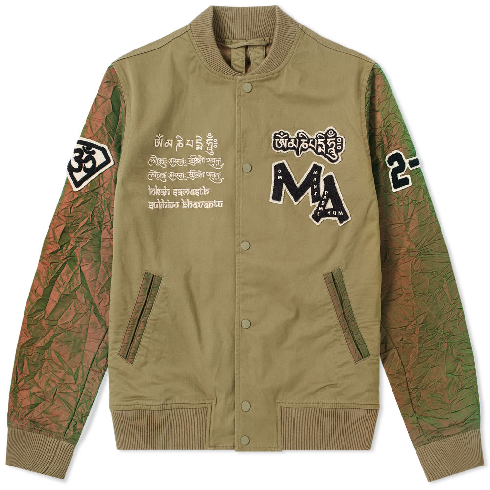 Photo: Maharishi Mani Stadium Varsity Jacket