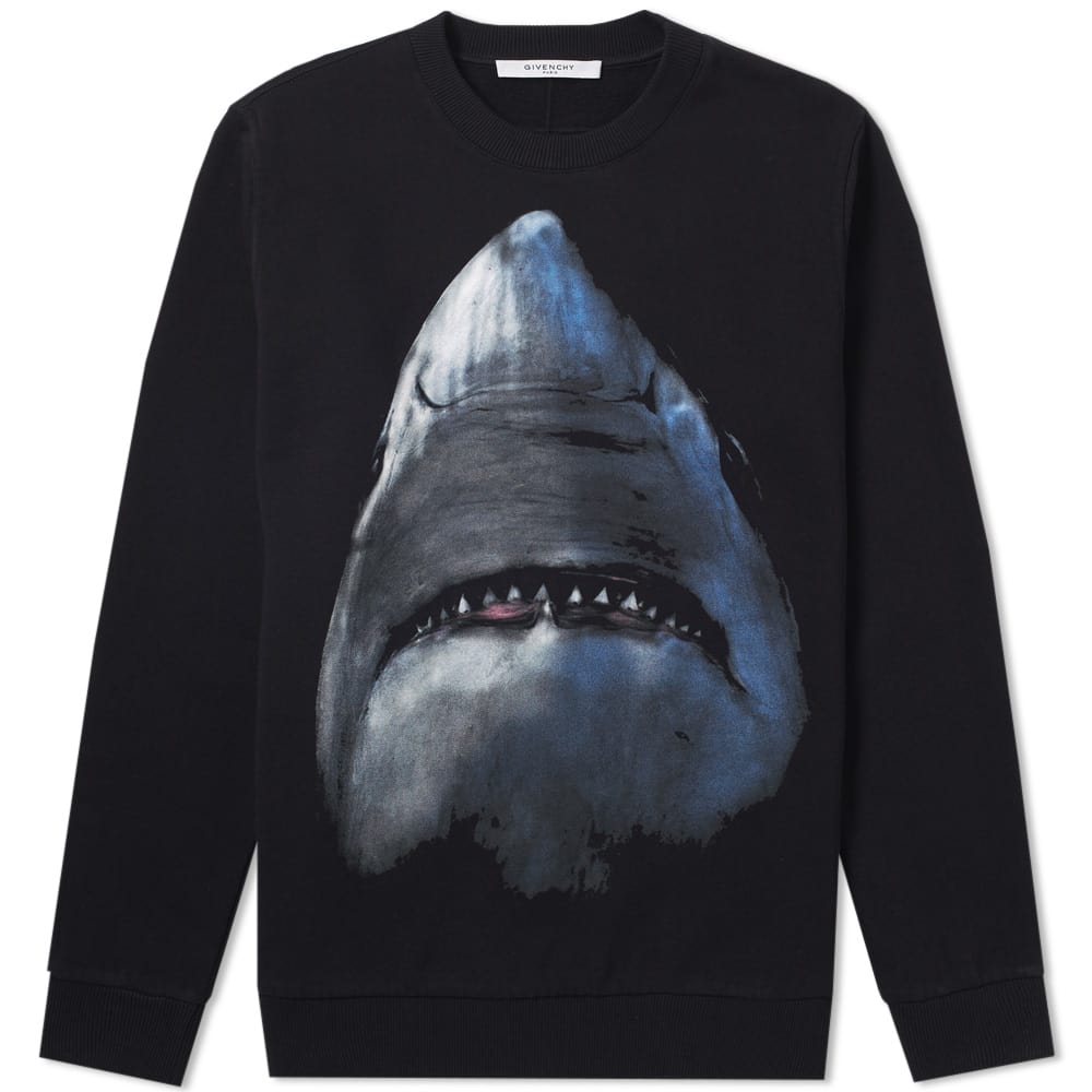 Photo: Givenchy Cuban Shark Print Sweat