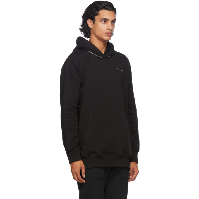 1017 ALYX 9SM Black Mackintosh Edition Metal Logo Hoodie