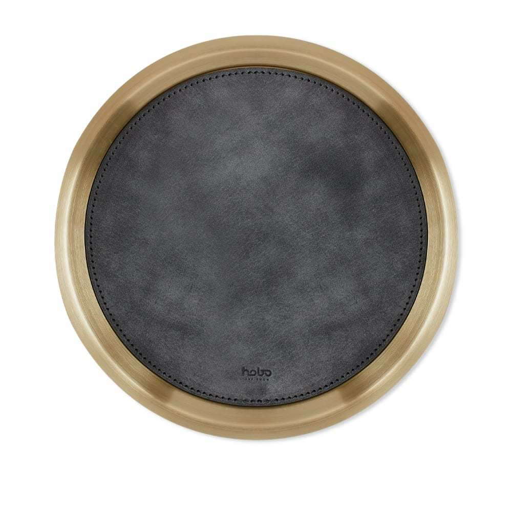 Photo: HOBO Small Brass & Leather Tray