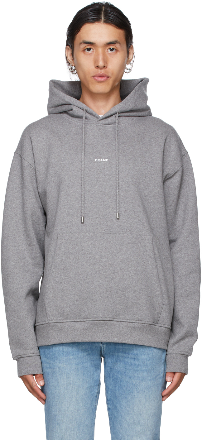 Photo: Frame Grey Logo Hoodie