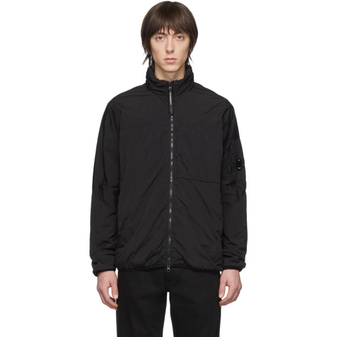 Photo: C.P. Company Black CR-L Zip Up Jacket