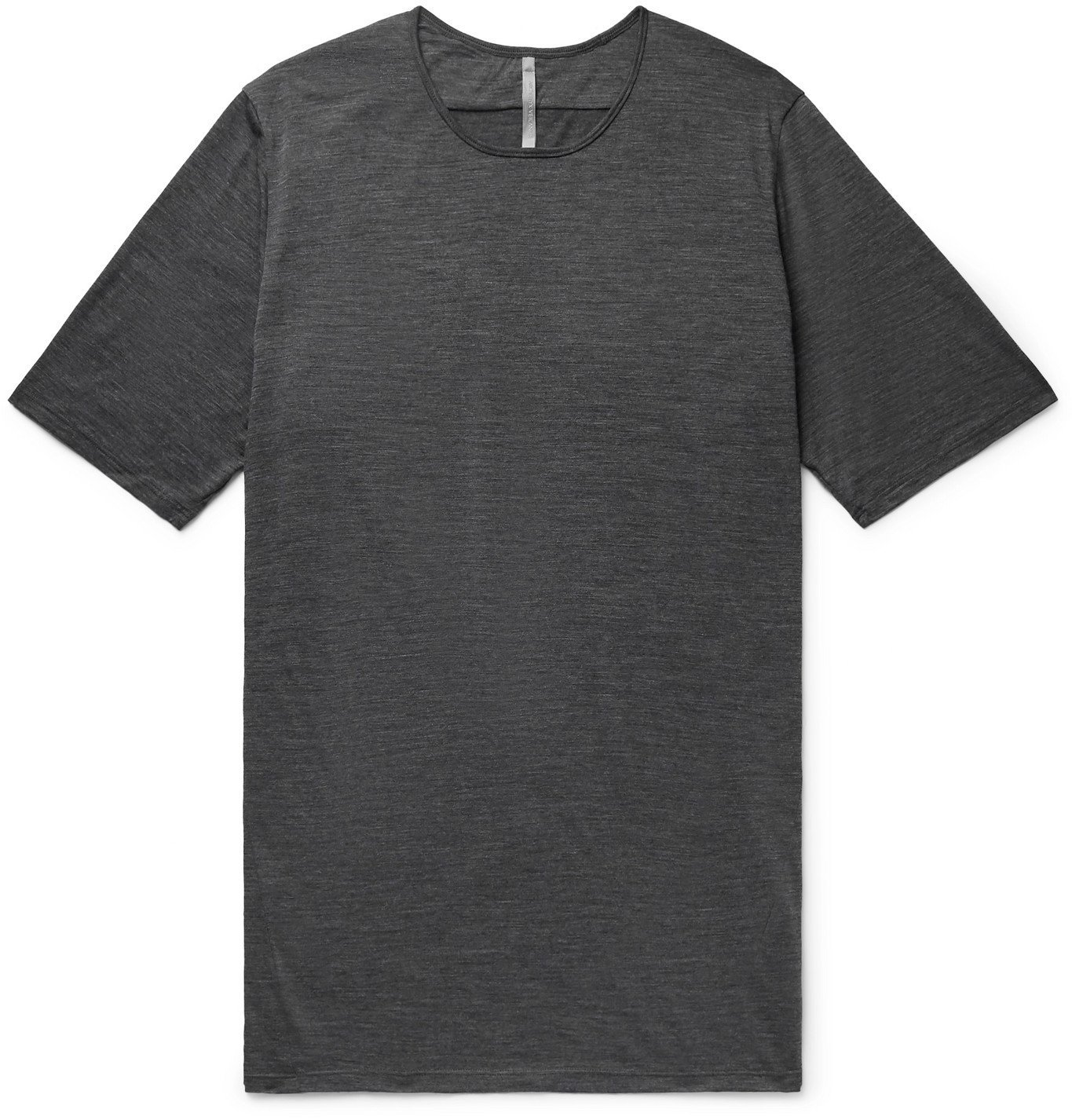 Photo: Veilance - Frame Wool and Nylon-Blend Jersey T-Shirt - Gray