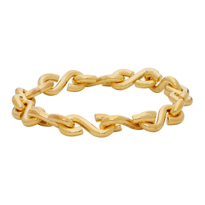 Photo: All Blues Gold Polished S Bracelet