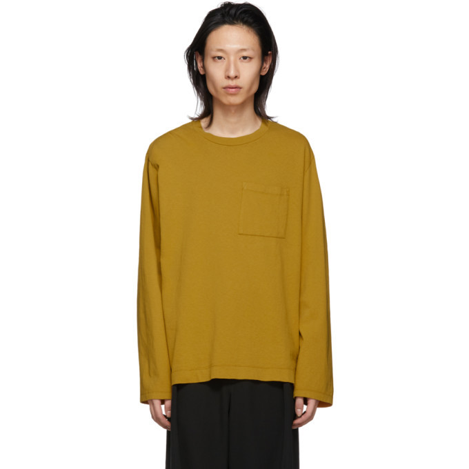Photo: Our Legacy Yellow Box Long Sleeve T-Shirt