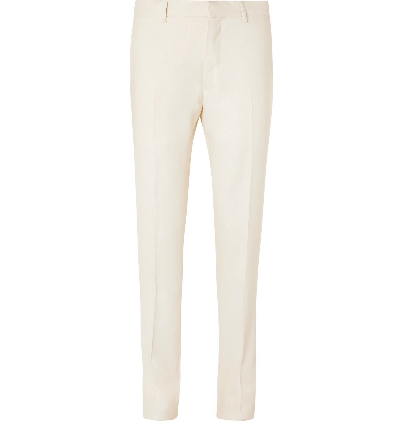 Photo: Caruso - Pleated Linen and Silk-Blend Twill Suit Trousers - Neutrals