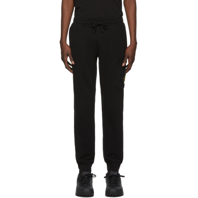Photo: Stone Island Black Fleece Lounge Pants