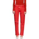 Alyx Red Straight Leg Jeans
