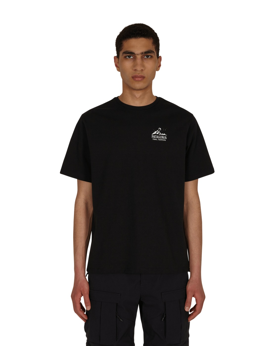 Photo: Patagonia Ridgeline Runner Responsibili T Shirt Black