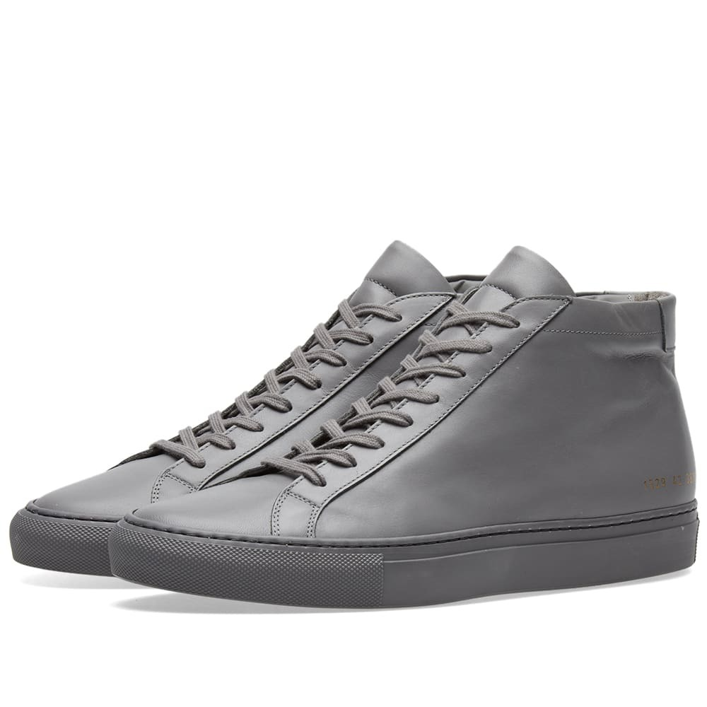 Photo: Common Projects Original Achilles Mid Grey