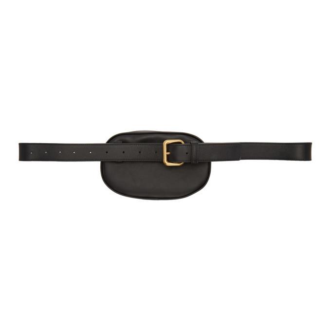 Bottega Veneta Black Intrecciato Belt Bag