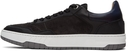Dunhill Black Court Elite Lux Sneakers