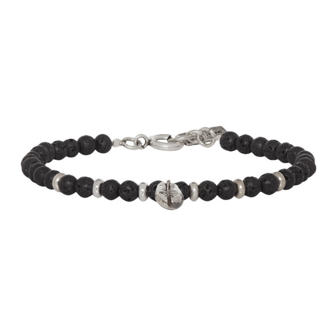 Photo: Isabel Marant Black Beaded Bracelet