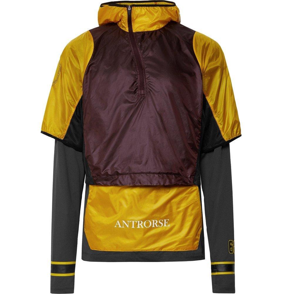 Photo: Nike x Undercover - GYAKUSOU Transform Convertible Dri-FIT Mesh and Ripstop Running Jacket - Yellow