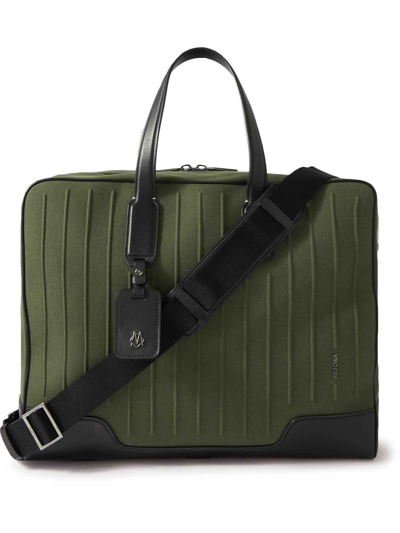 Photo: RIMOWA - Weekender Leather-Trimmed Canvas Holdall
