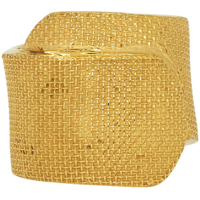 Photo: Ambush Gold Band Aid Ring
