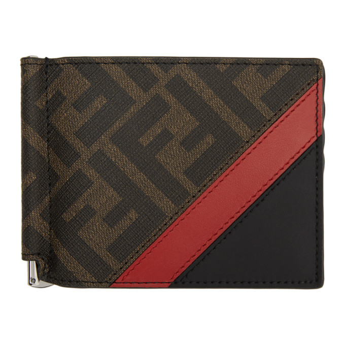 Photo: Fendi Black and Red Forever Fendi Bifold Wallet