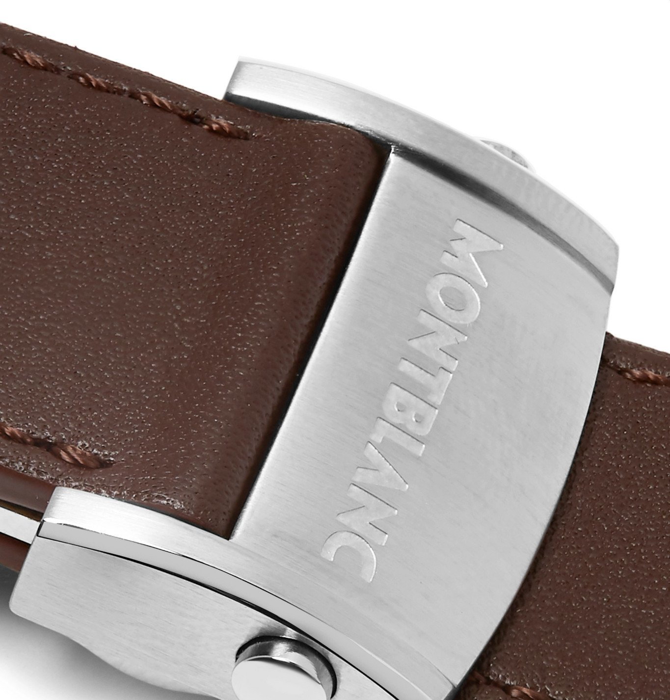Montblanc - Leather Watch Strap - Brown