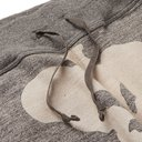 KAPITAL - Gradrelle Tapered Printed Mélange Loopback Cotton-Jersey Sweatpants - Gray