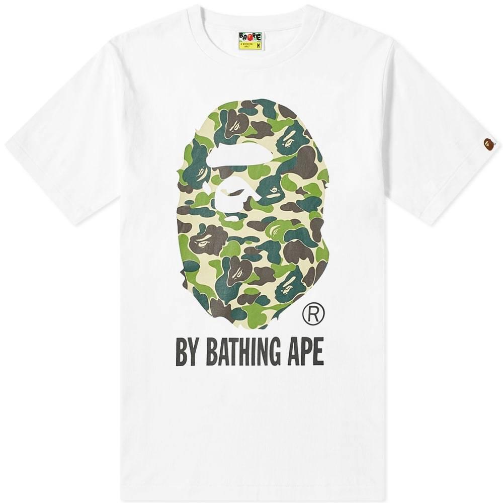 Photo: A Bathing Ape ABC By Bathing Tee White & Green