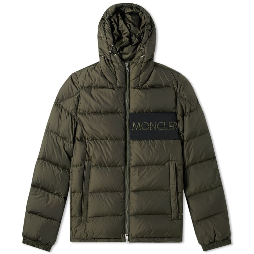 Photo: Moncler Aiton Logo Hooded Down Jacket