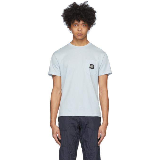Photo: Stone Island Blue Pocket Logo T-Shirt