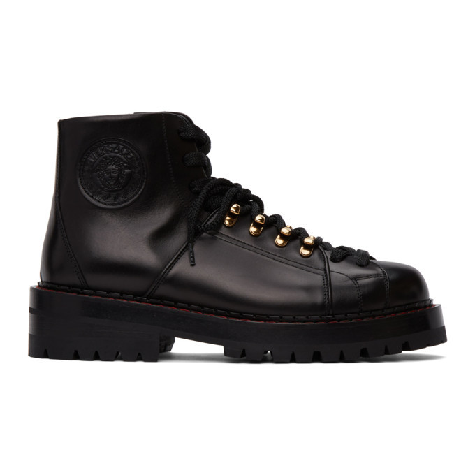 Photo: Versace Black Alpine Boots
