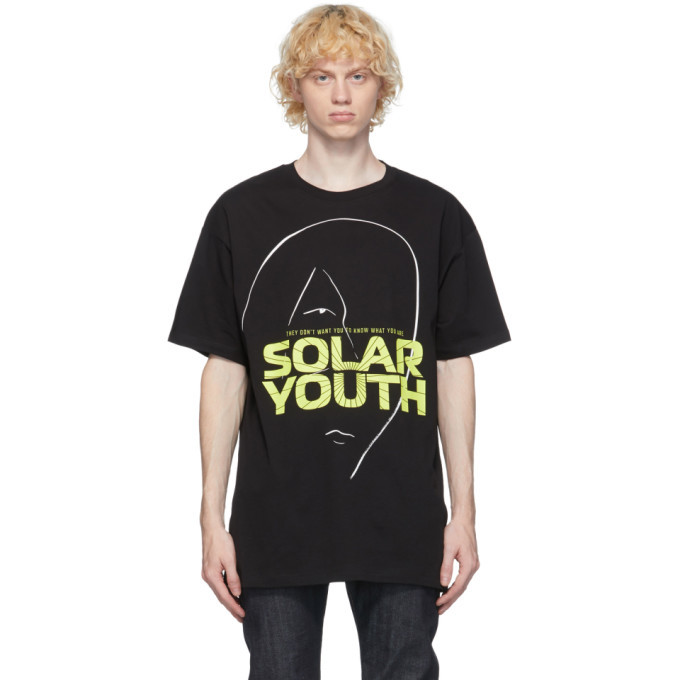 Photo: Raf Simons Black Solar Youth T-Shirt