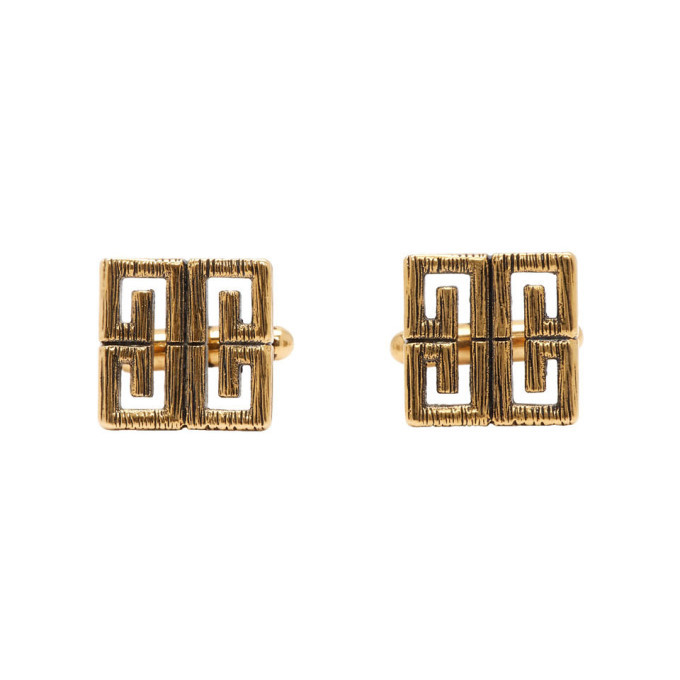 Photo: Givenchy Gold 4G Cufflinks