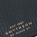 Smythson - Full-Grain Leather Wallet - Petrol