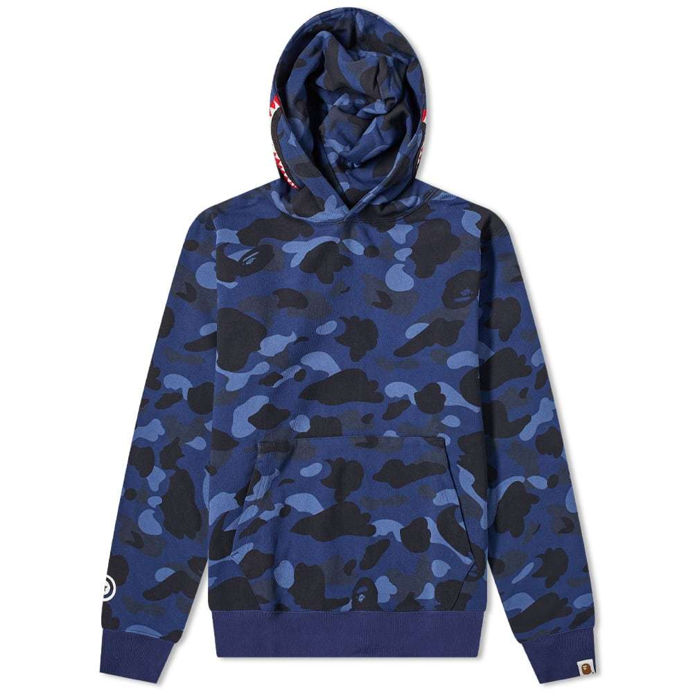 Photo: A Bathing Ape Colour Camo Shark Wide Pullover Hoody