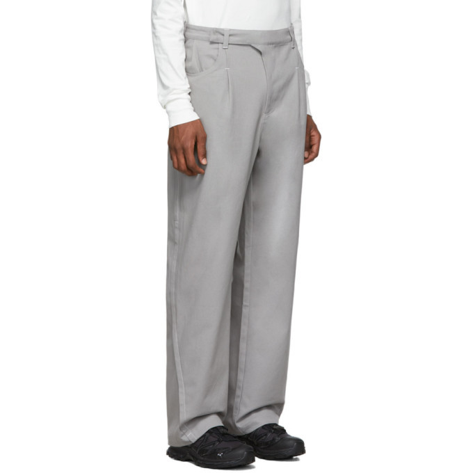 Post Archive Faction PAF Grey 2.0 Right Trousers