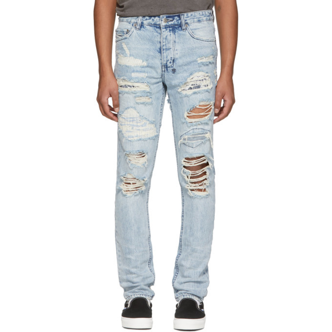 Photo: Ksubi Blue Chitch Tropo Jeans