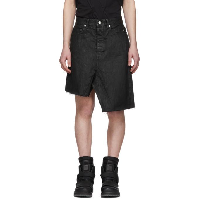 Photo: Rick Owens Black Sisyskirt Shorts