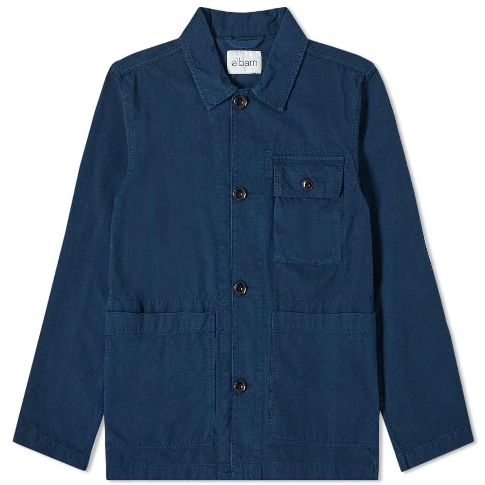 Photo: Albam Garment Dyed Ripstop Rail Jacket