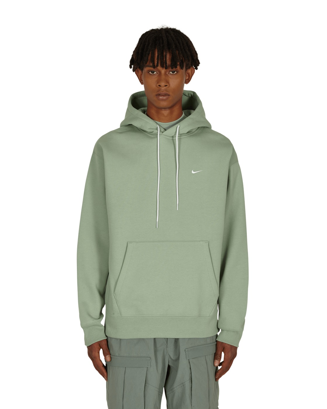 Nike Special Project Logo Hooded Sweatshirt Steam/White