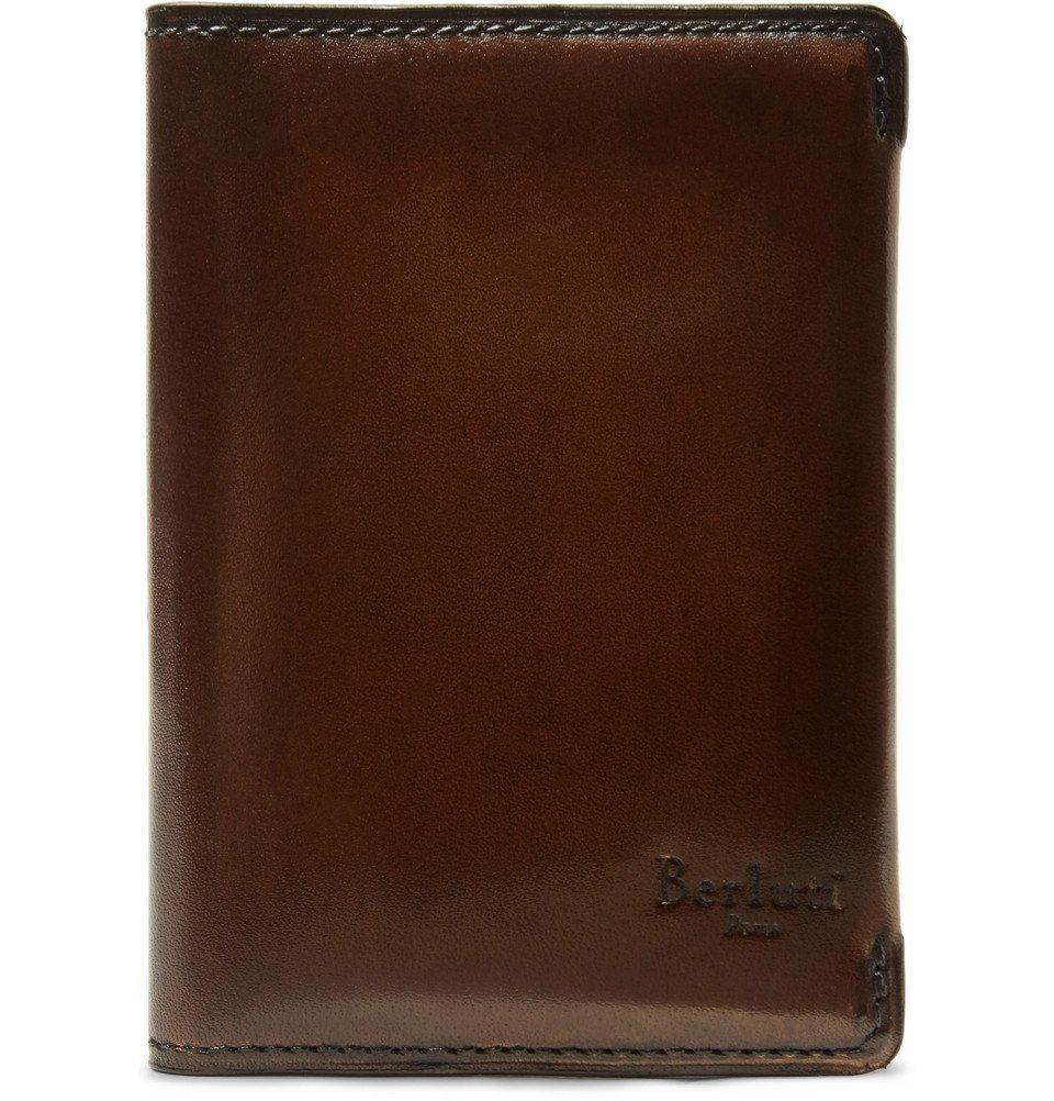 Photo: Berluti - Ideal Leather Bifold Cardholder - Brown
