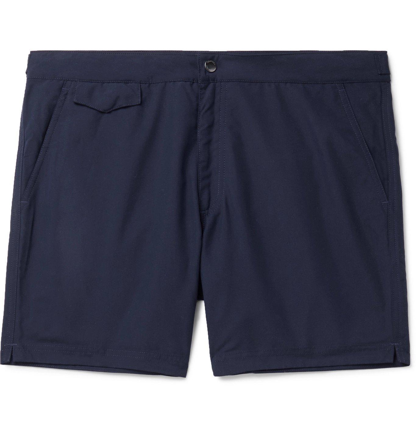 Sunspel - Slim-Fit SEAQUAL Swim Shorts - Unknown