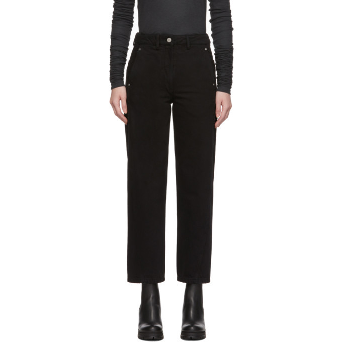 Photo: Lemaire Black Twisted Jeans