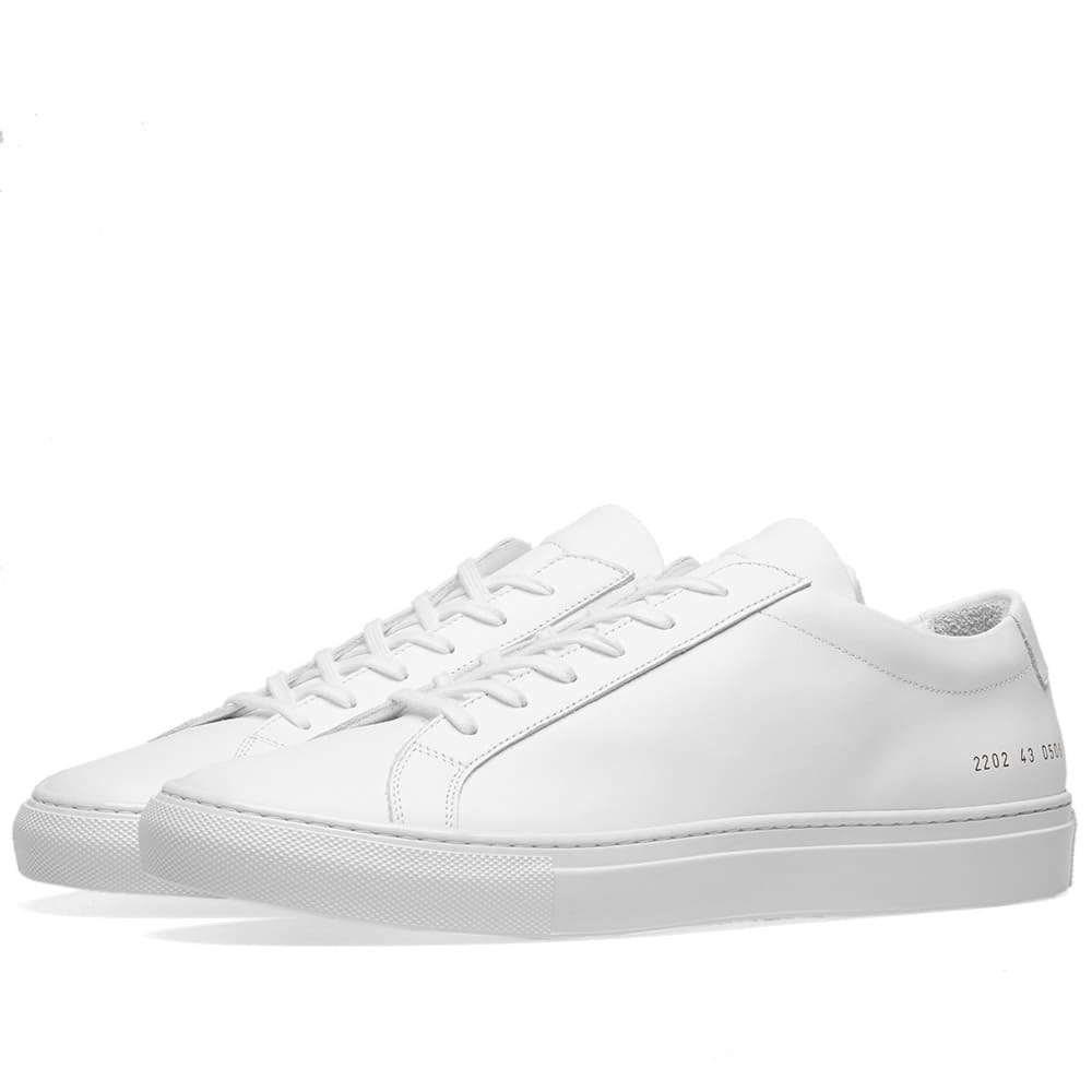 Common Projects Achilles Low Lux White