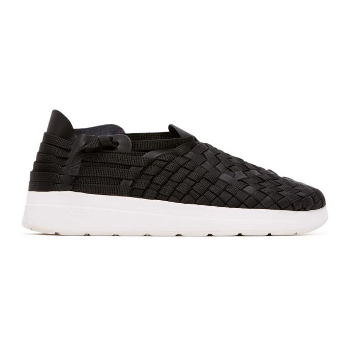 Photo: Malibu Sandals Black and White Latigo Sneakers