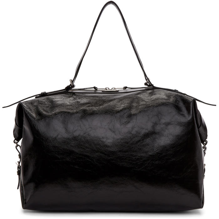 Photo: Saint Laurent Black Large ID Duffle Bag