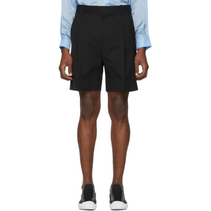Photo: 3.1 Phillip Lim Black Pleated Walking Shorts