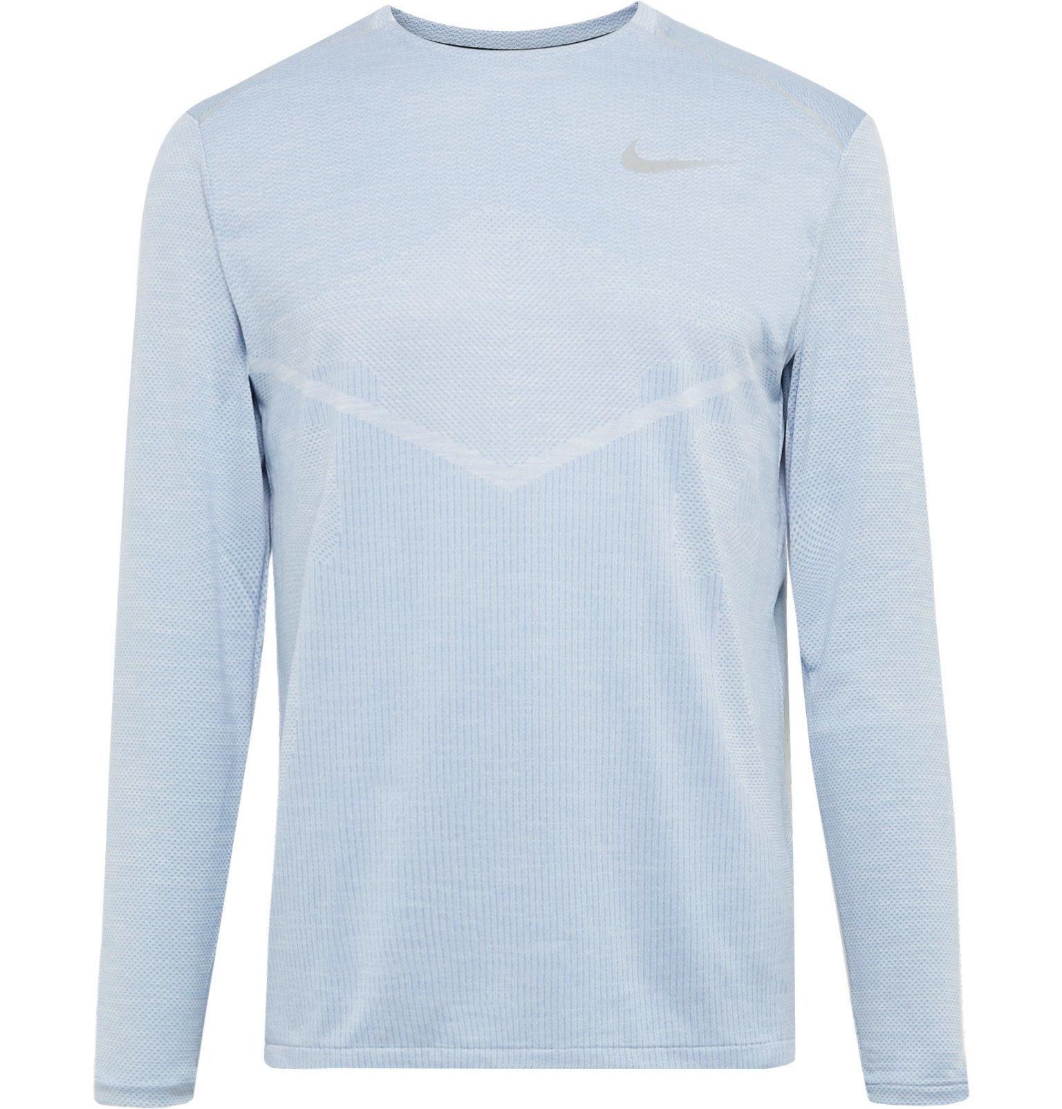 Nike Running - Ultra TechKnit T-Shirt - Blue