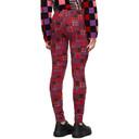 Comme des Garcons Homme Plus Red Jacquard Check Trousers