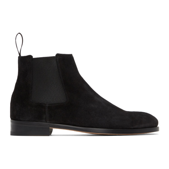 Photo: Paul Smith Black Suede Crown Chelsea Boots