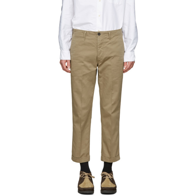 Photo: Visvim Beige High Water Chinos