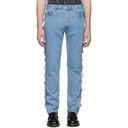 Martine Rose Blue Side Panel Jeans