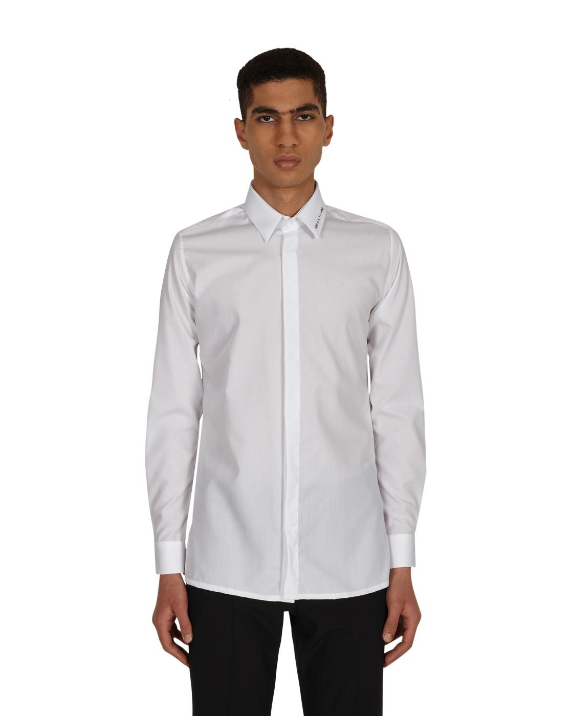 Photo: 1017 Alyx 9sm Metal Logo Button Down Shirt White